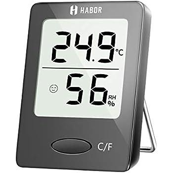 LCD-Digital-Hygrometer-Thermometer-Temperatur-Feuchtigkeitsmesser-Raum Innen  Jg