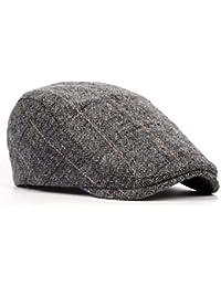 CYSJW-In Autunno E in Inverno Il Cappello Gli Uomini di Mezza ETA  E  Anziani Pac Cappello Classico Reticolo MAO… 3ad7b0e164e0