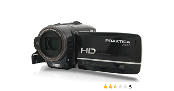Praktica Dvc 5 5 Hdmi Full Hd 1080p Camcorder 3 Zoll Kamera