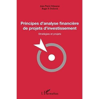 Principes d'analyse financière de projets d'investissement: Stratégies et projets
