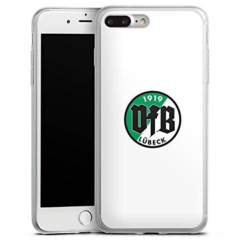 Apple iPhone 8 Slim Case Silikon Hülle Schutzhülle VfB Lübeck Fanartikel Fußball Bundesliga Silikon Slim Case transparent