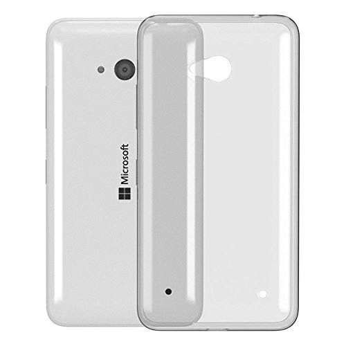 Ultra Slim Cover für Nokia Lumia 650 Schutz Hülle TPU Case Schutzhülle Silikon Tasche Dünn Transparent Transparent
