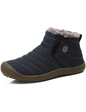 Uomini Donne Stivali Invernali Outdoor Impermeabile Caldo Scarpe Stivali Con Pelo Morbido