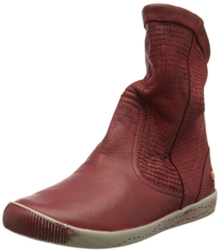 Softinos Damen IGGY348SOF Kurzschaft Stiefel Red (Scarlet)