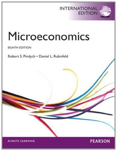 Study Guide for Microeconomics by Pindyck, Robert, Rubinfeld, Daniel 8th (eighth) Edition [Paperback(2012)]