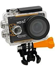 Discovery Adventures Full-HD 1080P WLAN Action Kamera Expedition mit LCD Bildschirm, 5,08 cm (2 Zoll) schwarz
