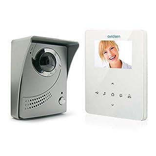Avidsen Video-Türgegensprechanlage in schlankem Design, Aufputzmontage, Farbe: Weiß