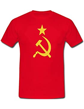 Comunista martillo y unisex T-shirts hoz gobierno - 5 colores