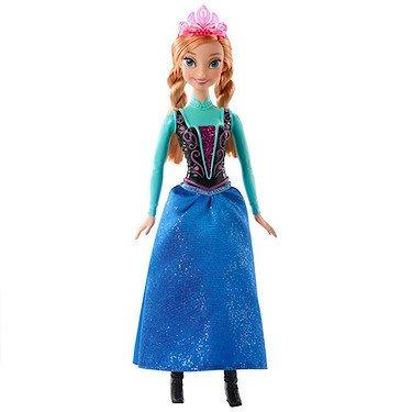 Mattel CFB81 - Disney Princess Märchenglanz Prinzessin Anna ()