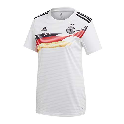 adidas Performance Damen DFB Frauen WM 2019 Heim Fußballtrikot weiß M (Fußball-trikots Für Frauen)