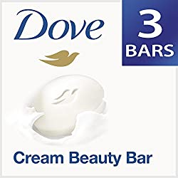 Dove Cream Beauty Bathing Bar, 3x75g