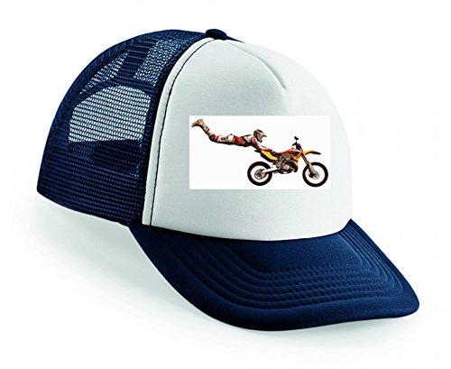 Snapback Stuntman- Motocross- Trick- Sprung- Motorrad- Fahrrad- Sport- RENNEN Unisex Baseballmütze Trucker Mützen Base Caps