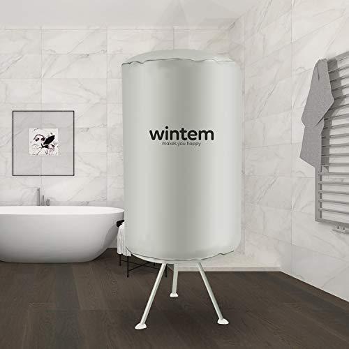 Dryeroon asciugabiancheria asciugatrice per vestiti portatile in alluminio 1000 watt - circolare o rettangolare (circolare)