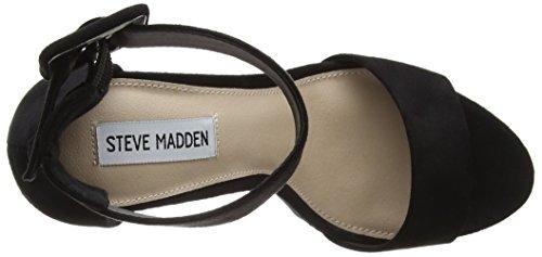 Steve Madden Damen Coco Sandal Absatz Schwarz (Schwarz)