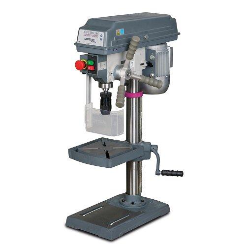 Optimum 058op3171B17Pro Bohrmaschine Standbohrmaschine mit Riemenantrieb Trapez, 500W