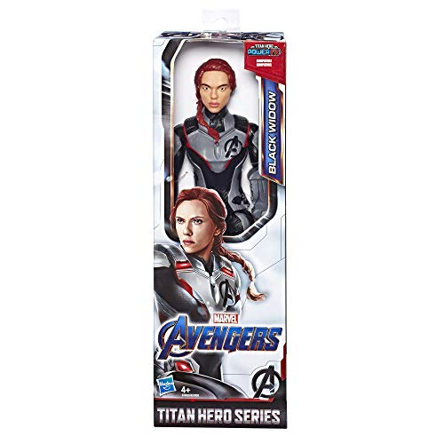 Avengers- Titan Hero Movie Black Widow, Multicolor (Hasbro E3920ES0)