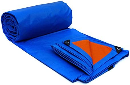 Panno impermeabile impermeabile impermeabile antipioggia Telone impermeabile in plastica con telone auto tenda parasole parasole pieghevole facile anti-ossidazione (Coloreee   blu tangerine, dimensioni   4x3m) | Buona reputazione a livello mondiale  | Fai pieno uso dei materiali d3111b