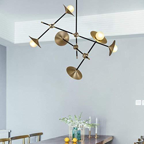 AOLIr Kronleuchter Beleuchtung Moderne Glas Led Pendelleuchte Lautsprecher Stil Esszimmer Küche Designer Hängelampen Avize Leuchte Innenlicht