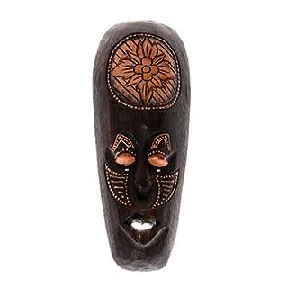 30cm Holz Maske Holzmaske Wandbehang Skulptur Figur Afrika Art Deko HM3000019