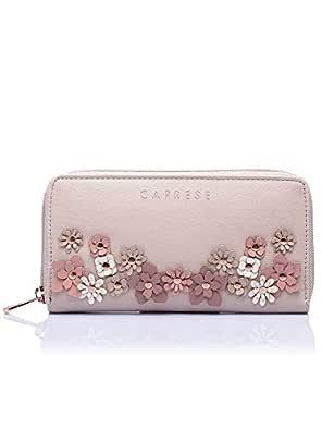 Caprese Flora Women's Wallet (Beige)