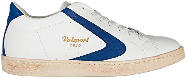 Valsport 1920 Herrenschuhe Herren Leder Schuhe Sneakers tournament Weiß