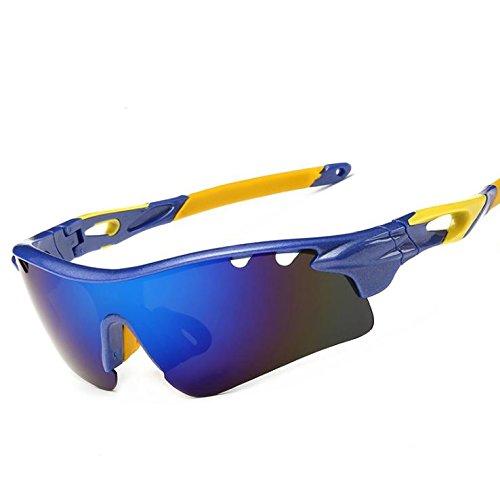Preisvergleich Produktbild Spiegel Polarisierte Sonnenbrille Sport Sonnenbrillen Für Männer Und Frauen Reiten, Sonne Und Sand Beweis Gläser , 2