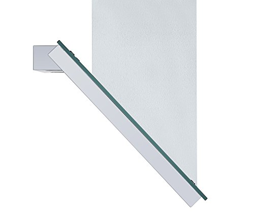 Angled Glass Extractor Fan | Cookology ANG705WH Unbranded 70cm Angled Glass Chimney Cooker Hood in White