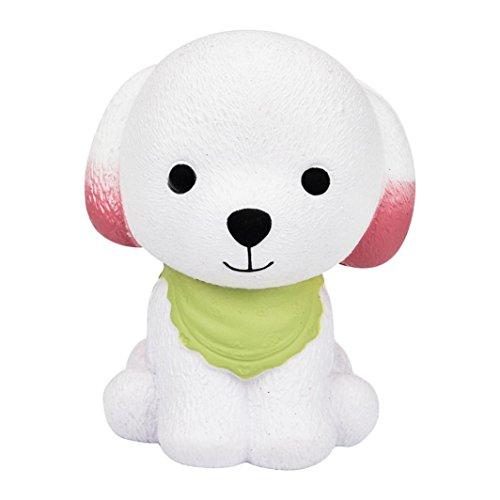 Preisvergleich Produktbild Squishy Puppy Spielzeug Puppy Hansee 12cm Jumbo Squishy Cute Puppy Duft Creme Langsam Steigende Squeeze Dekompression Spielzeug Slow Rising Toy (Grün)