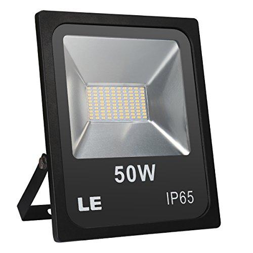 LE Projecteur LED 50W Eclairage Extérieur Lumière du jour ou Lumière Blanche Chaude