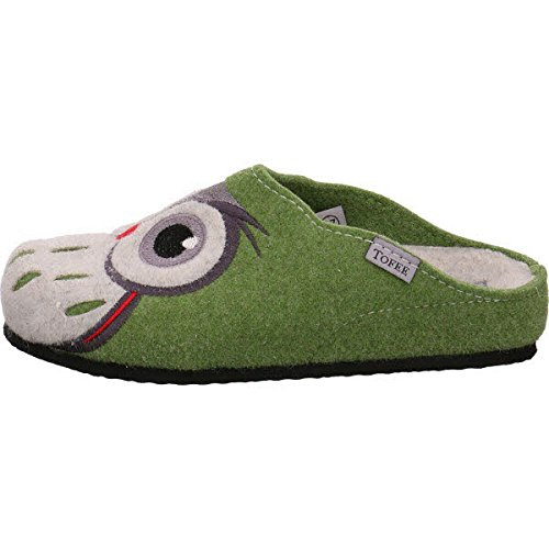 TOFEE  Toffee 113/eur 3017gruen, Chaussons pour femme Vert