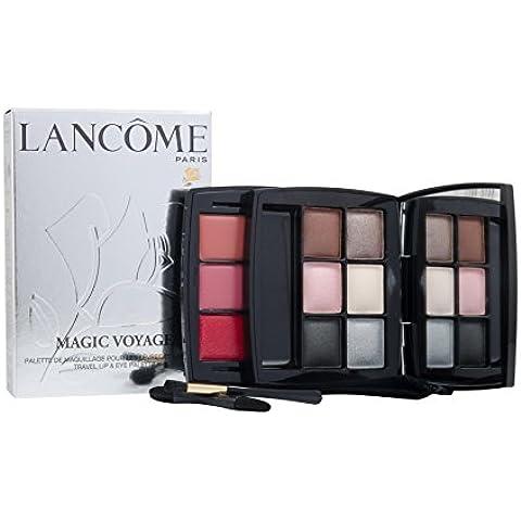 Magic viaje bolsillo labios y ojos paleta (6x, 3x sombra de ojos Lip Color, 2x aplicador) -