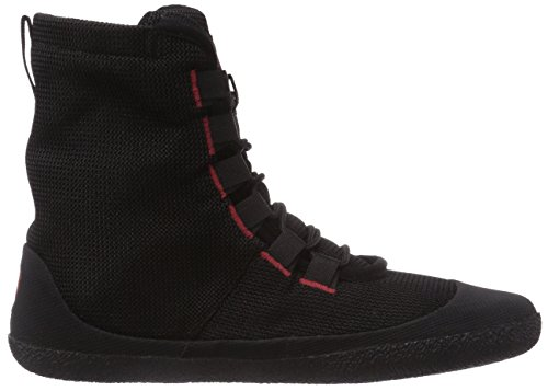 Sole Runner Transition 2, Bottes Chukka Mixte adulte Noir (black/red 05)