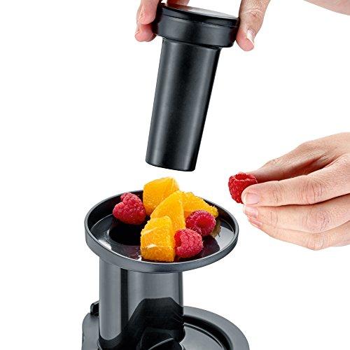 Slow Juicer 150 W mit Frozen Fruits Aufsatz Bild 3*