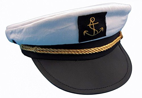 Kapitänsmütze von Modas Gr. 56 (Marine Matrosen Kostüm)