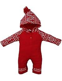 Riou Weihnachten Baby Kleidung Set Kinder Pullover Pyjama Outfits Set Familie Neugeborenes Mädchen Jungen Weihnachtsmit... preisvergleich bei kinderzimmerdekopreise.eu