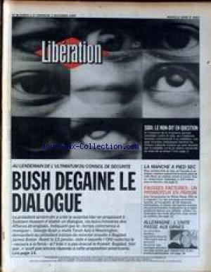 LIBERATION [No 2963] du 01/12/1990 - SIDA - LE NON...