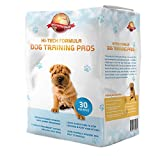 Puppy Training Pads 30-Pack|60cm x 60cm New Super Absorbent Size|This New Unique 5