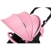 Baby Monsters-Capota-arneses y Barra protectora para silla Compact- Color Milkshake