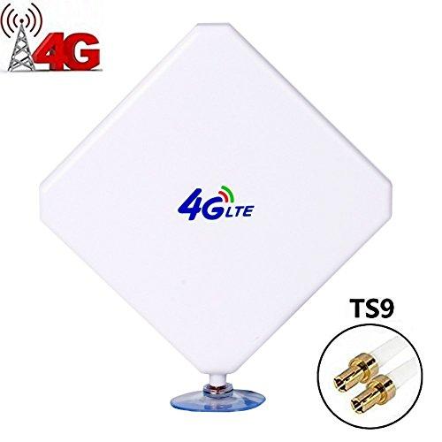 TS9 4G-Antena, 4G LTE Antena Dual Mimo 35dBi Alto Ganancia Red Etherne