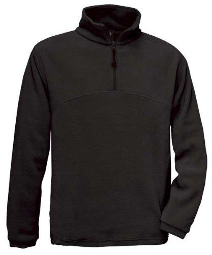 B & C Highlander Unisex in pile Maglione Pullover Fleece fino a 3X L Black
