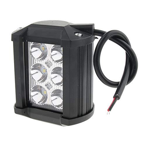 MagiDeal Phare Feux de Travail LED Lampe Etanche Projecteur 18W Voiture Camion 4 Pouce