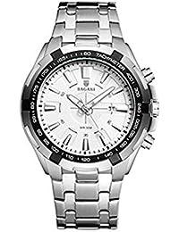 Hermosos Relojes de Moda Reloj de los Hombres Reloj de Cuarzo de Acero Nuevo cinturón wristwatch2018