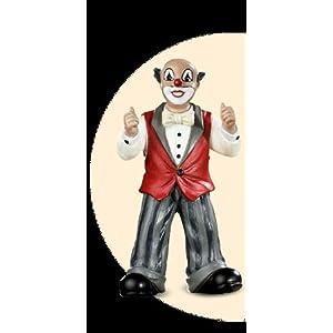 Gilde Clowns Toptimus ca. 10 cm schwarze Schuhe