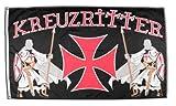 Flagge Kreuzritter - 90 x 150 cm