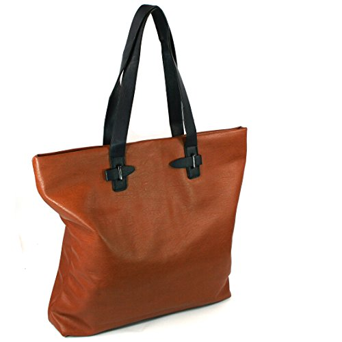Black Ginger, Borsa a spalla donna L Tan