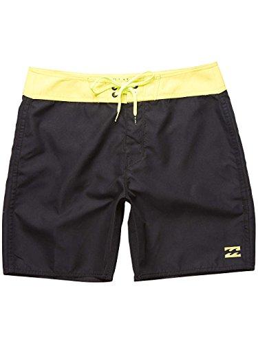 Billabong Herren All Day Og Cut 17 Shorts black/lime