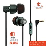 Tantra T1000 Super Extra Bass 225 Earphones Subwoofer Wired Headphones