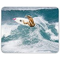 Surfer Girl Alfombrilla Para Ratón Pad – Surf Surf playa mar regalo ordenador ...