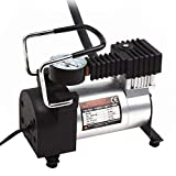 Heavy Duty Metal Electric Car Air Compressor Pump Portable Tire Tyre Inflator,Cooper Winding