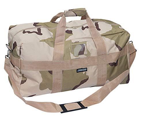 Commando Industries US Army Airforce Bag Große Sport- und Reisetasche 57L (3 Farben Desert)